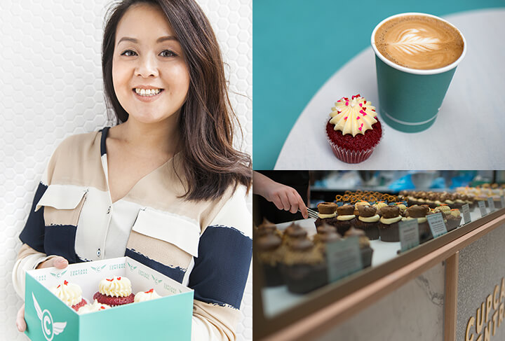 Sheryl Thai. Founder and Director of Cupcake Central