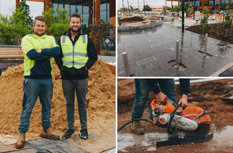 Small Business Spotlight: Melbourne Paving | Moula Good Business www.moula.com.au