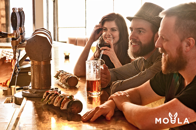Win free drinks with Moula.com.au