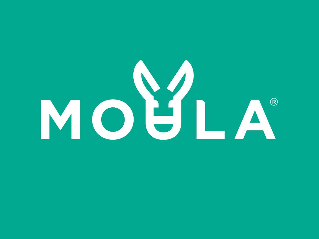 Moula logo white