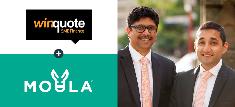 Moula Partner Insights with Vijay Reddy and Abhishek Maharaj of Winquote SME Finance