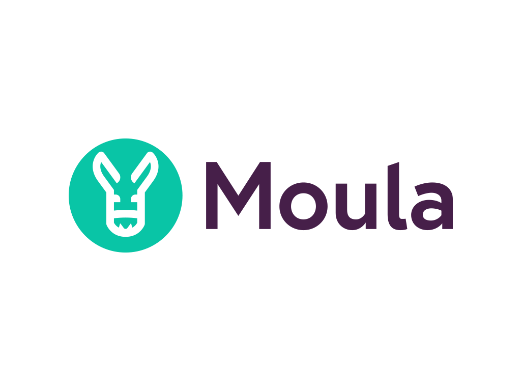 Moula Logo | Backing Good Business