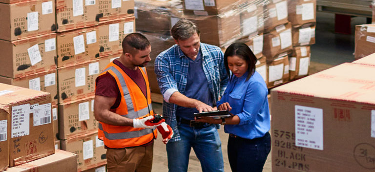 People In Warehouse Considering Days Inventory Outstanding